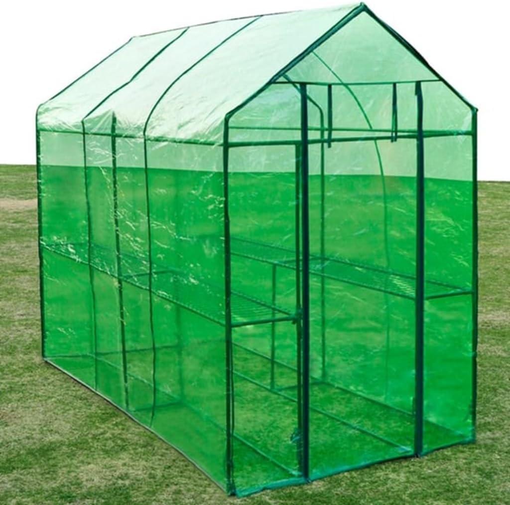 vidaXL Invernadero XL de Acero Caseta Cultivo de Plantas para Jardín Terraza: Amazon.es: Jardín