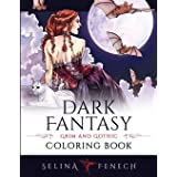 Dark Fantasy Coloring Book: Grim and Gothic