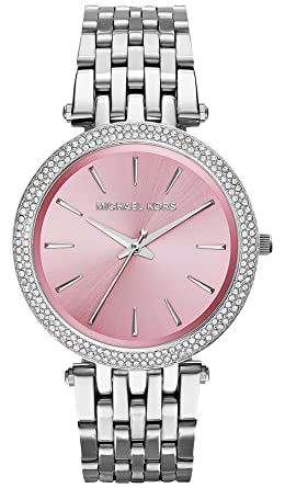057bb78e4c80 Image Unavailable. Image not available for. Color  Michael Kors Women s  MK3352 - Darci Stainless