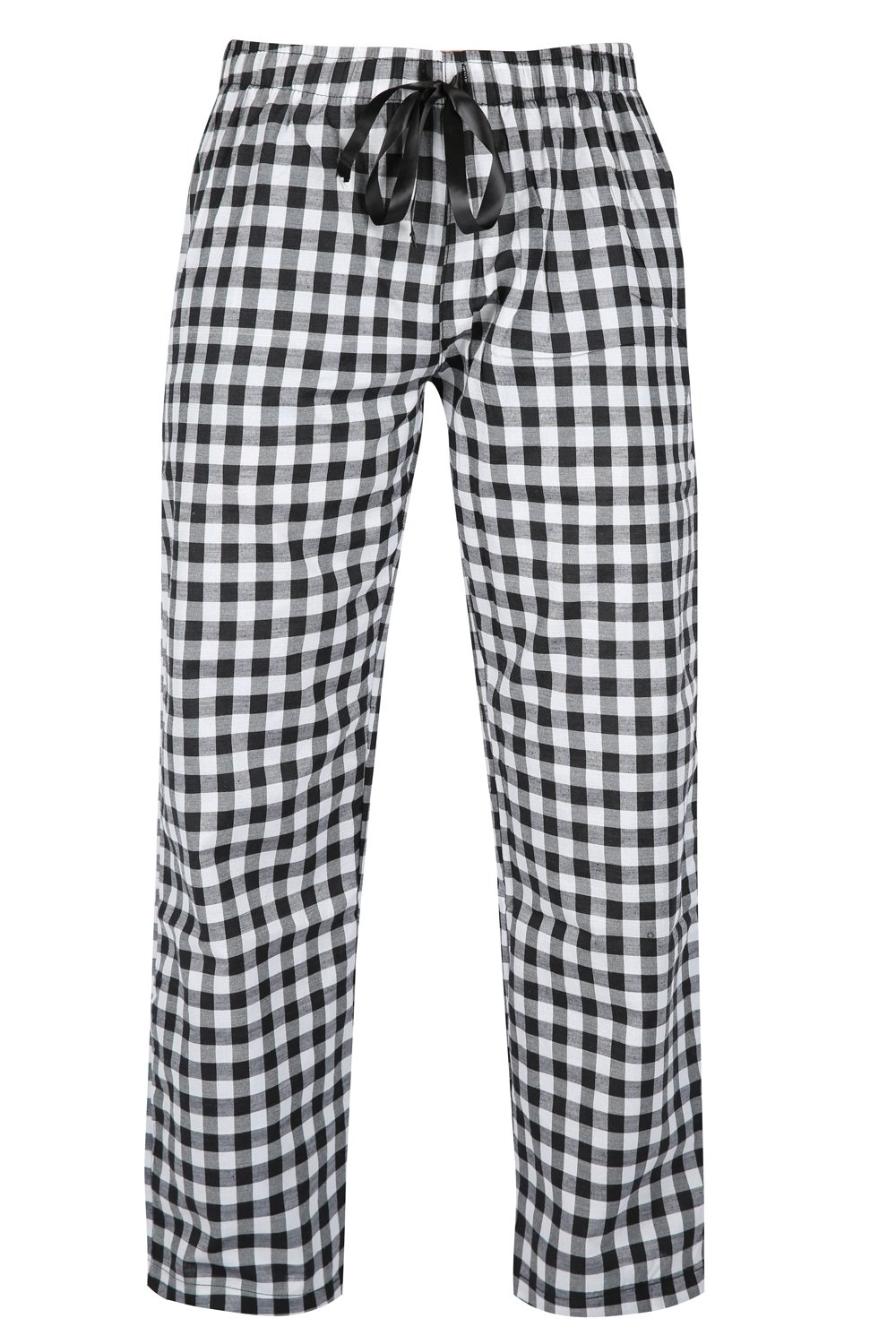 FASHION INSTYLE Women's Ladies Woven Check Pyjama Bottoms Perfect For Loungewear