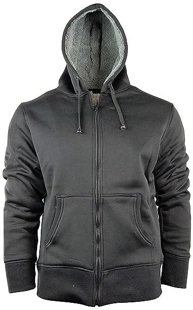 7f9436a578c American Legend Men's Zip Up Hoodie Hooded Jacket with Fleece Lining ...