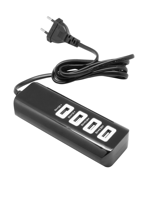 UNOTEC Regleta USB 4X: Amazon.es: Electrónica