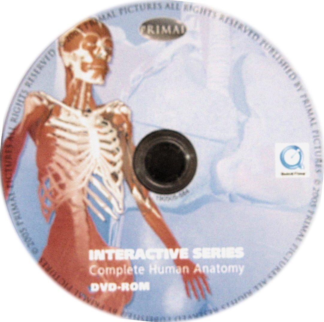 Buy Complete Human Anatomy Primal 3d Interactive Series Dvd Rom Book