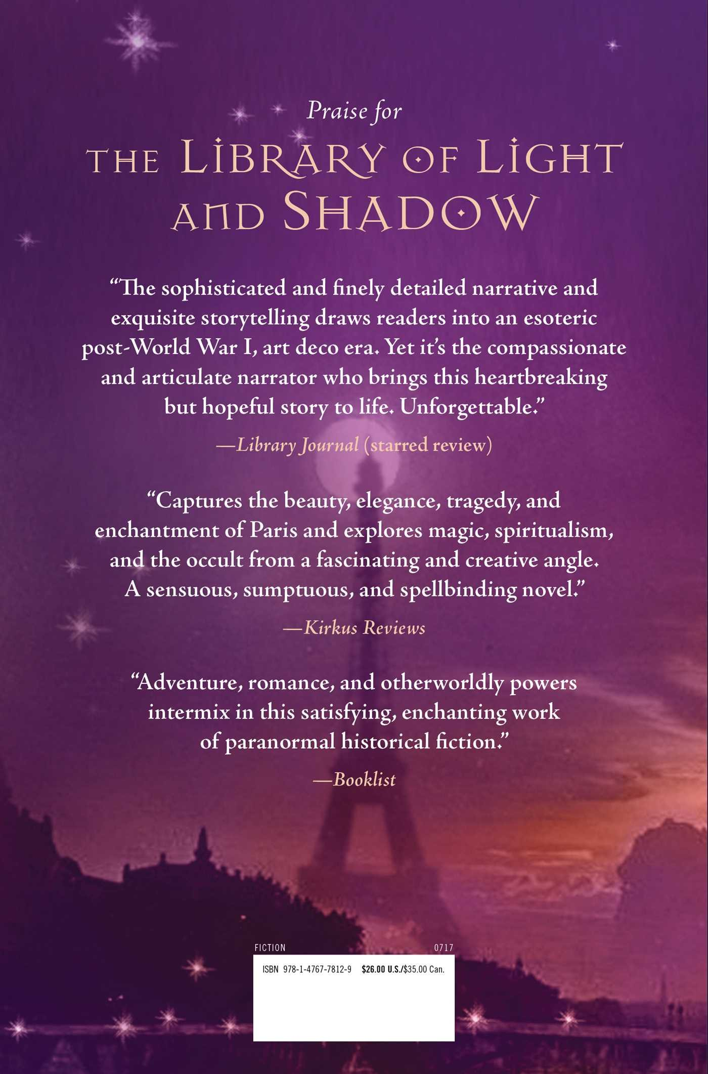 The Library Of Light And Shadow: A Novel (daughters Of La Lune): M J  Rose: 9781476778129: Amazon: Books