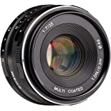 Meike 35mm f/1.7 Manual Focus Fixed Lens for Sony E Mount Digital Cameras ( NEX3, 3N, 5, 5T, 5R, 6, 7, A5000, A5100, A6000, A6100 and A6300 etc)