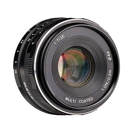 amazon com meike 35mm f 1 7 manual focus fixed lens for sony e rh amazon com sony nex 7 manual focus NEX-7 Release