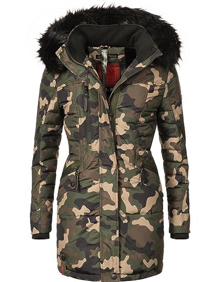 Abrigo de invierno de la marca Navahoo, modelo Eliya, para mujer, fabricado sin