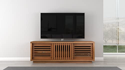 Furnitech Contemporary Rustic TV Stand Media Console