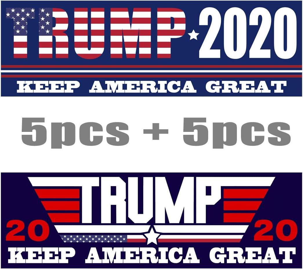 Trump Bumper Sticker 5 Pack 4 More Years Vinyl 6 x 2 Inch Brand New