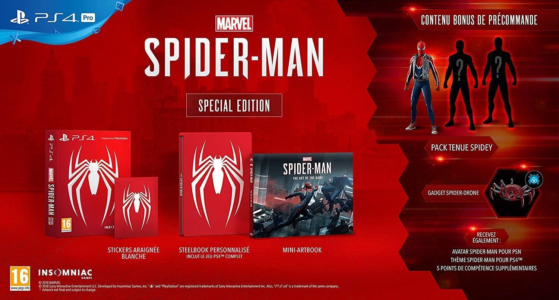 Marvels Spider-Man Special Edition PS4: Amazon.es: Videojuegos