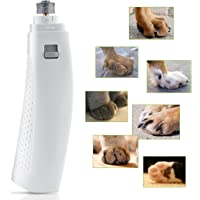 OMorc Dog Nail Grinder, Electric Pet Nail Grinder/Trimme with Premium Diamond Bit Grinder, Paws Nail Clipper Toe Nail Trimmer Cuticle Shaper for Pet Dog Cat,2 AA Batteries are Included