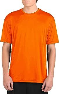 product image for WSI Microtech Loose Short Sleeve Shirt, Blaze Orange, Medium