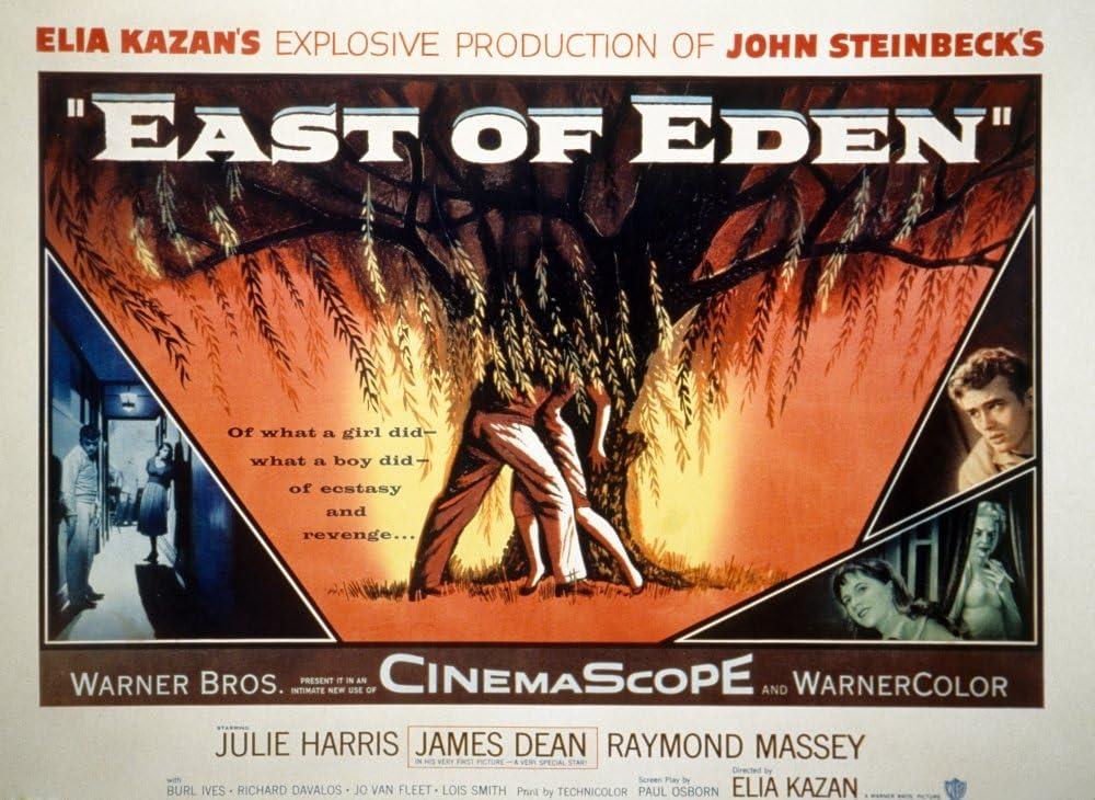 CANVAS James Dean and Julie Harris East Of Eden Art print POSTER