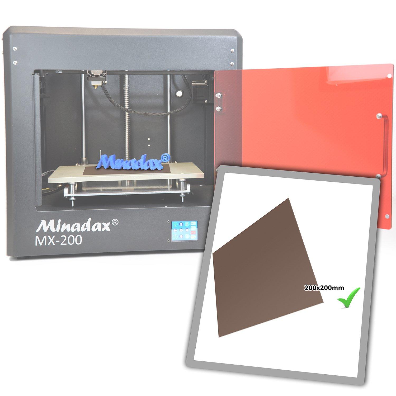 3M 468MP Transferfolie f/ür 3D Druck Minadax/® PEI 3D Druckplatte Natur 220x220mm inkl 3D-Modelldruck FDM Druck