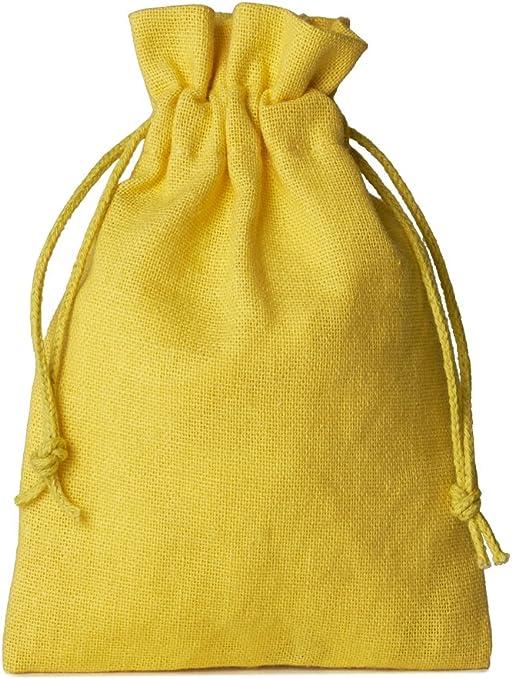 10 unidades bolsitas de algodón, bolsas de algodón, tamaño 30 x 20 ...