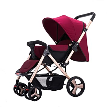 Folding Lightweight Baby Toddler Umbrella Travel Stroller w// Storage Basket