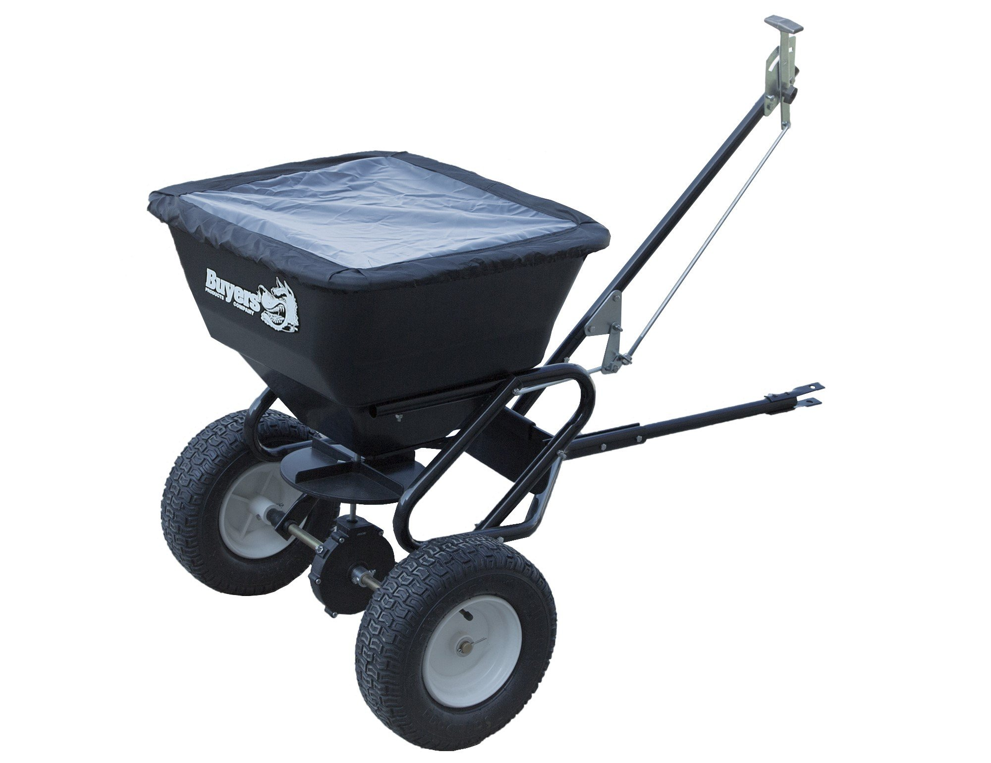 Buyers Products TB150BG 100 lbs. Capacity Tow Behind Broadcast Spreader