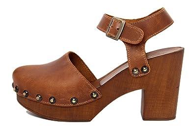 MARRADINI Damen - Sandale - Glattleder - 264_294_Boston_Cuoio