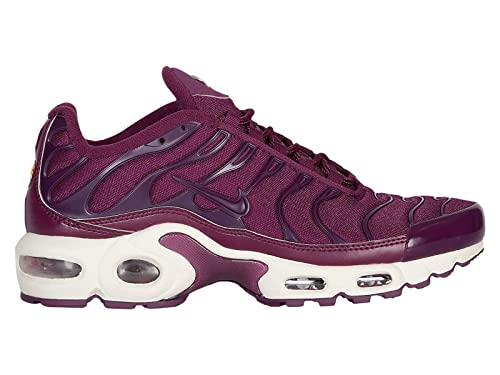 huge discount a320b 4504c NIKE Air Max Plus - Womens Bordeaux/Bordeaux/Summit White Nylon Running  Shoes 9 B(M) US
