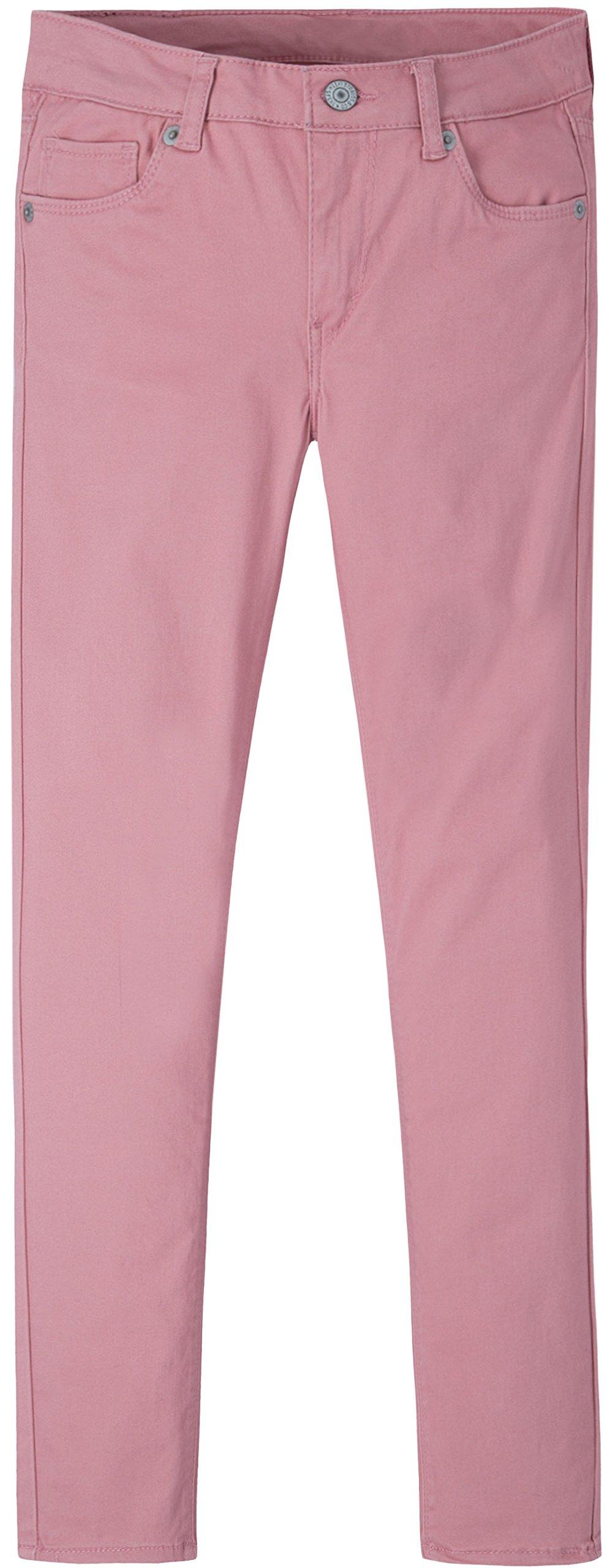 Levi's Big Girls' 710 Super Skinny Fit Soft Jeans, Blush, 16