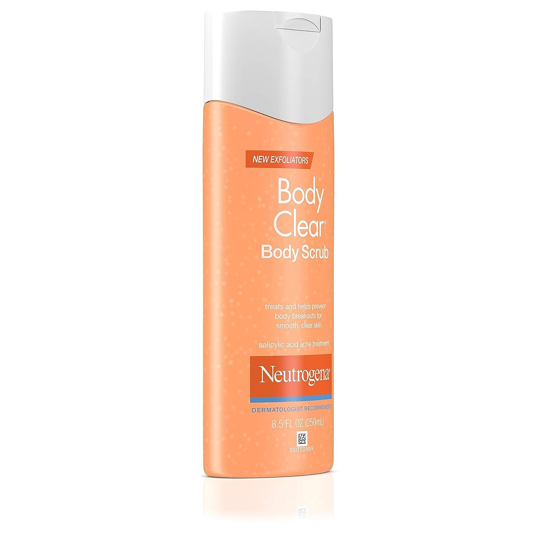 Amazon Com Neutrogena Body Clear Body Scrub Salicylic Acid Acne