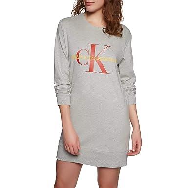 gut klassisch stylistisches Aussehen Calvin Klein Damen Nachthemd L/S Nightshirt