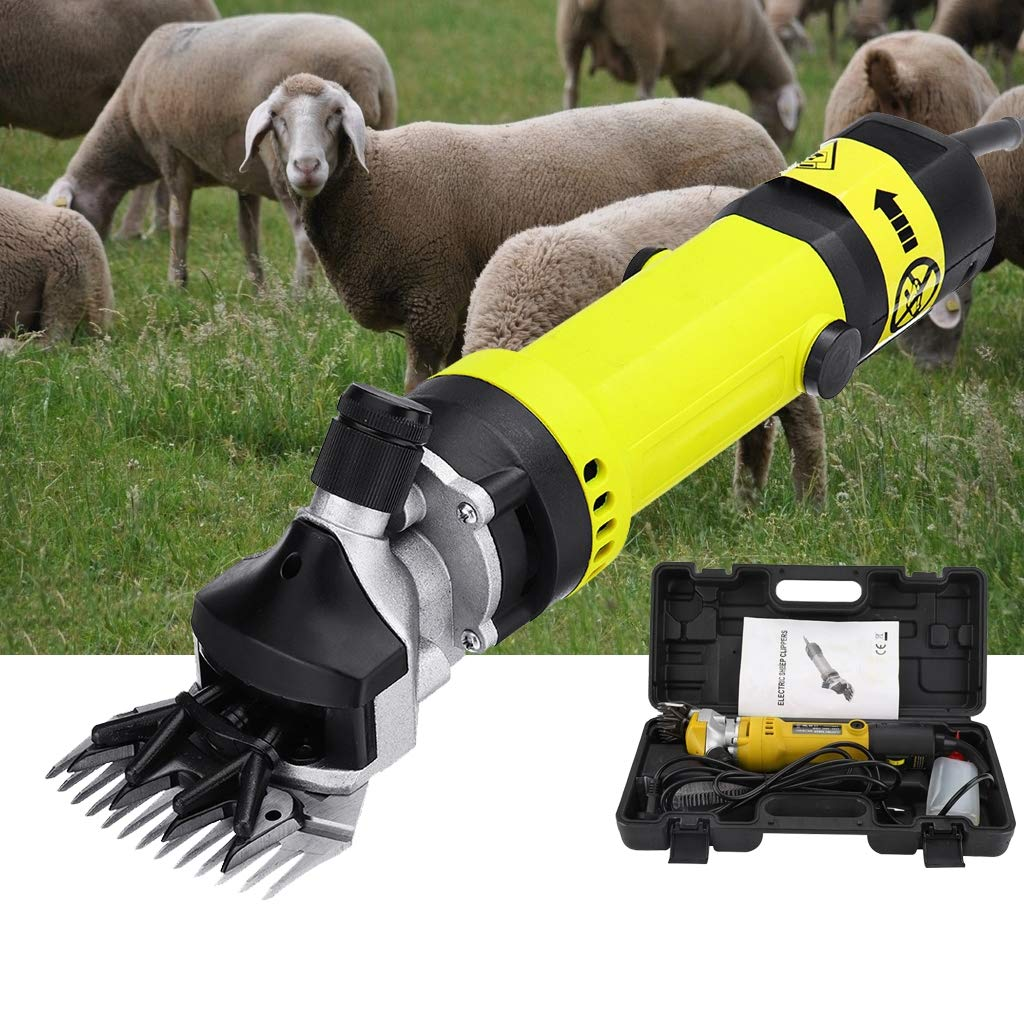 LXJ-LD 320W Sheep Shears Goat Clippers Animal Shave Grooming Farm Supplies Livestock Sheep Shears for Grooming,A