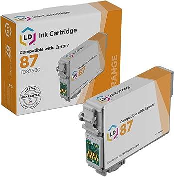 Amazon.com: LD© Remanufacturado Repuestos para Epson t087920 ...