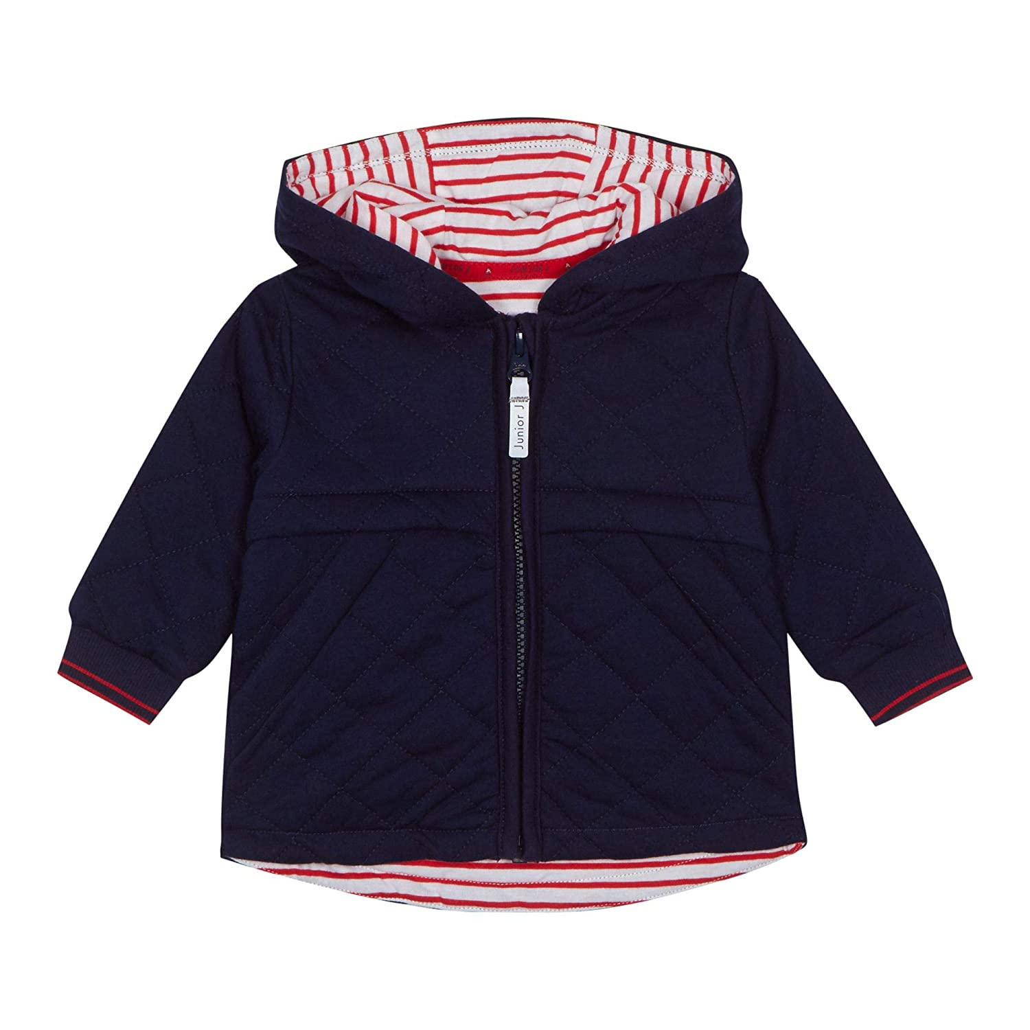 J by Jasper Conran Kids Babies' Navy Quilted Jacket