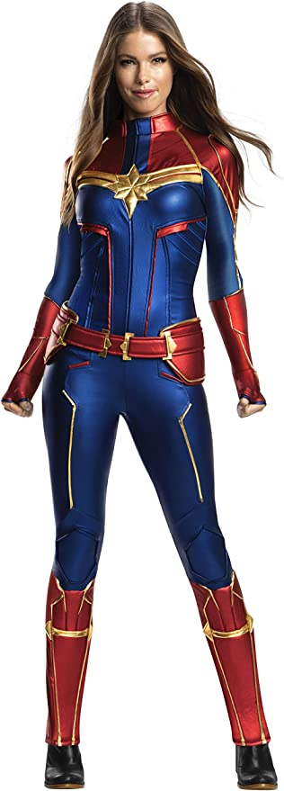 Amazon Com Rubie S Women S Marvel Adult Captain Marvel Adult Grand Heritage Costume Adult Costume Clothing We offers captain marvel costumes products. rubie s women s marvel adult captain marvel adult grand heritage costume adult costume