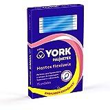 Hastes Flexíveis, York, pacote de 75