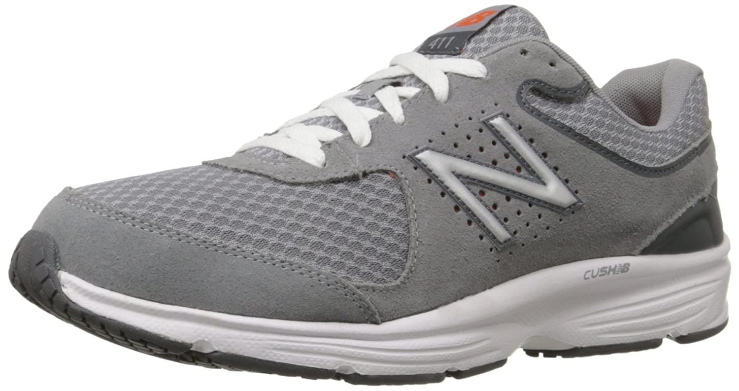 New Balance メンズ MW411 B00V3MM7TG 10 4E US|グレー グレー 10 4E US