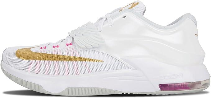 Nike KD 7 PRM Aunt Pearl - 706858 176 White