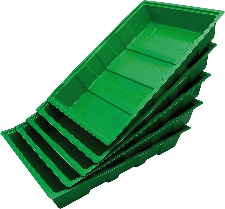 Biotop Pack de 5 bandejas para el Cultivo de Semillas (35 x 23,5 cm), B2010