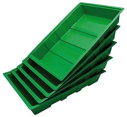 Biotop Pack de 5 bandejas para el Cultivo de Semillas (35 x 23,5