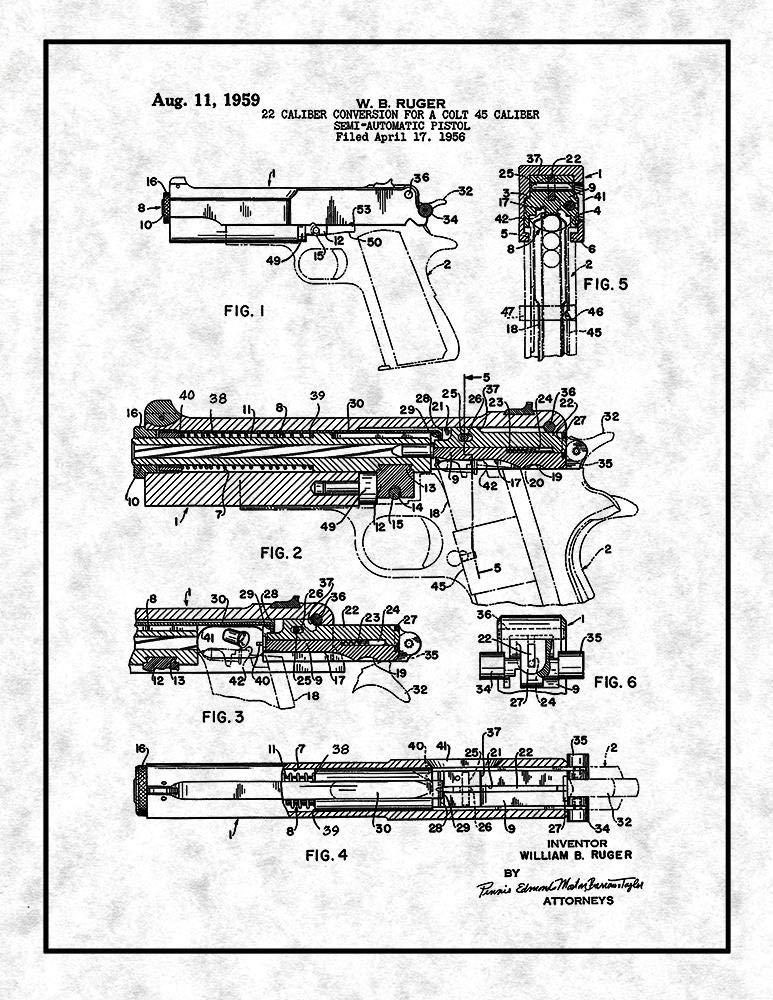 Amazon Com 22 Caliber Conversion For A Colt 45 Caliber Semi