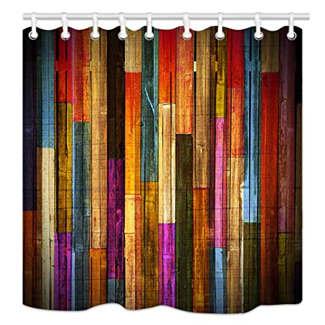 Amazon.com: NYMB Cortina de ducha para cuarto de baño ...