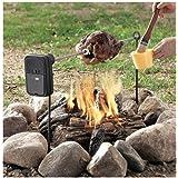 Rôtisserie Grizzly Spit pour feu de camp ou barbecue