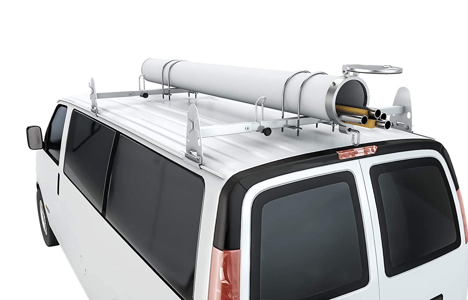 AA-Racks Universal Conduit Carrier Kit Fit 6 PVC Pipe No Drilling Required