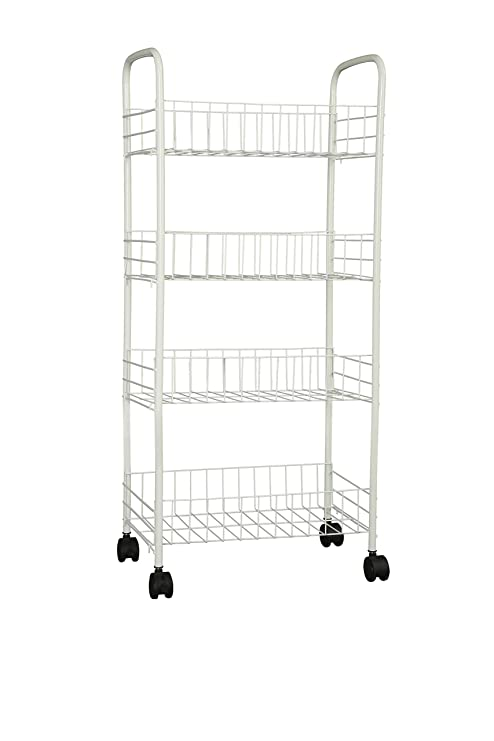 Amazon.com - Homebi Kitchen Trolley Rolling Cart 4-Tier Kitchen Cart on golf cart brackets, golf cart toilet, golf cart handles, golf cart valances, golf cart rails, golf cart locks, golf cart tv, golf cart decor, golf cart baskets, golf cart beds, golf cart storage, golf cart hooks, golf cart blinds, golf cart floor, golf cart carts, golf cart flowers, golf cart sides, golf cart cushions, golf cart benches, golf cart lamps,