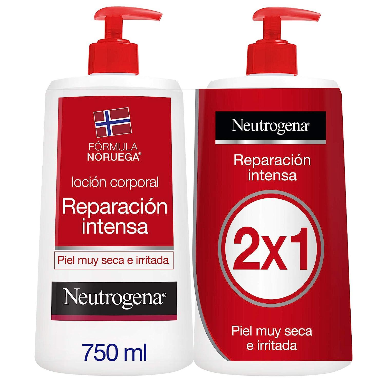 Neutrogena Loción Corporal Reparación Intensa - Pack de 2 x 750 ml - Total: 1500 ml