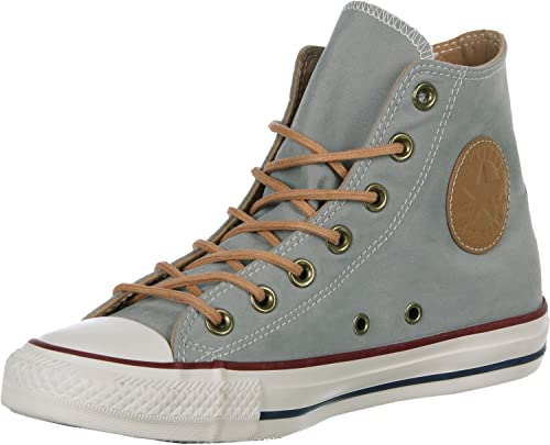 Star Hi Peached Canvas Shoes grey gray