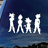 "Dragon Characters Ball DBZ Car Window Vinyl Decal Sticker 5"" Wide"