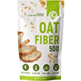 LifeSource Foods Oat Fiber 500 (1 LB) Keto, Zero-Carb, Gluten-Free, All-Natural Fiber for Low-Carb Baking and Bread, OU…