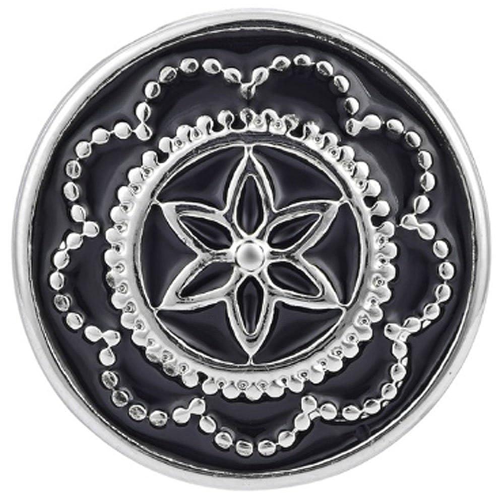 ブラックスターフラワージンジャースナップ – スナップボタン   B06W53N3W6