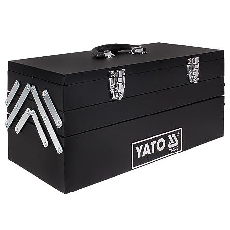 Yato YT-0885 - Caja para herramientas 460 x 200 x 225 mm Yato