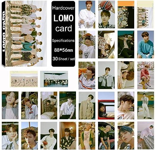 Juego Kpop Seventeen 7th Mini Album CD Fotograf/ía Lomo Tarjeta Combinaci/ón Peque/ño Tarjeta Tiyila 30pcs