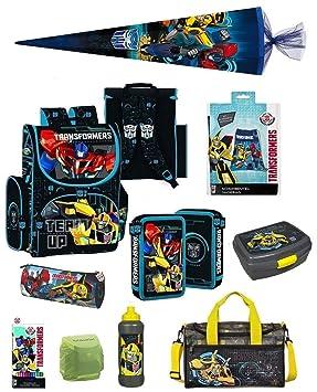 8da66b0cd0ae6 Familando Transformers Schulranzen-Set 10- TLG. mit Federmappe ...