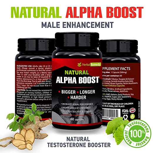 Amazoncom Alpha Boost Sexual Enhancement Pills Male Libido