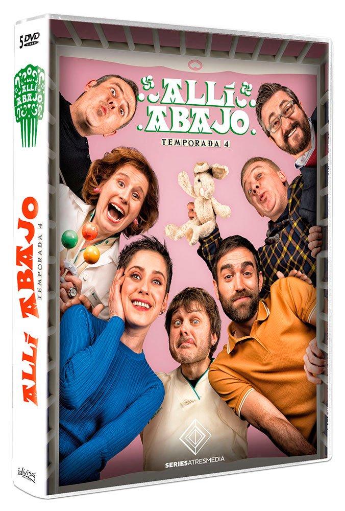 Allí Abajo Temporada 4 Dvd Amazon Es María León Jon Plazaola Mariano Peña Ane Gabarain Maribel Salas Varios María León Jon Plazaola Cine Y Series Tv